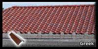 Home with Greek Roofing Tile